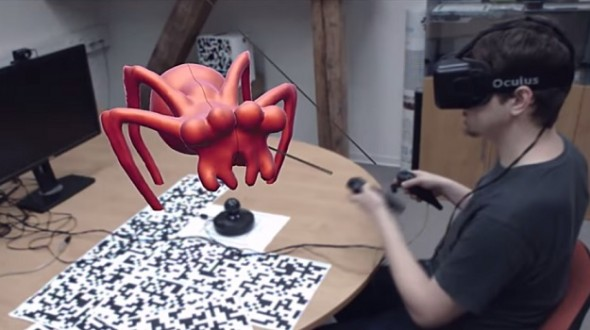 3D Virtual Sculpting with the Oculus Rift