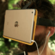 AirVR straps an iPad to virtual reality headset