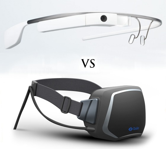 Google Glass Vs Oculus Rift