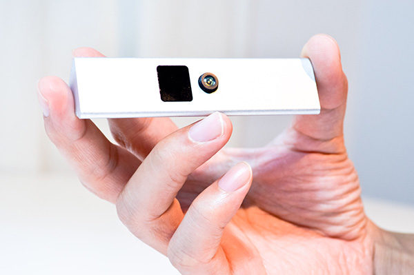The Nimble Sense hand-tracking camera. Photo: Nimble VR