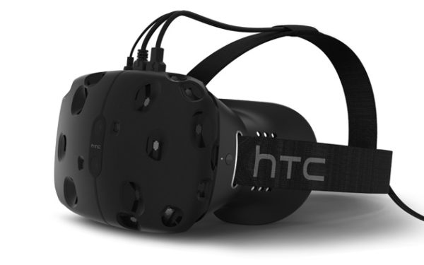 The HTC Vive VR headset, built in collaboration with Valve. Photo: HTC