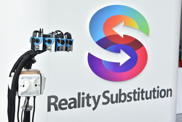 The RealiSM reality substitution prototype, showcased at The Brain Forum, Switzerland. Photo: The Brain Forum