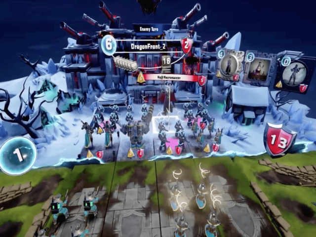 Dragon Front Is The First CCG Coming To The Oculus Rift
