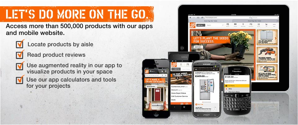 The Home Depot App Now Includes Augmented Reality – Virtual ...
