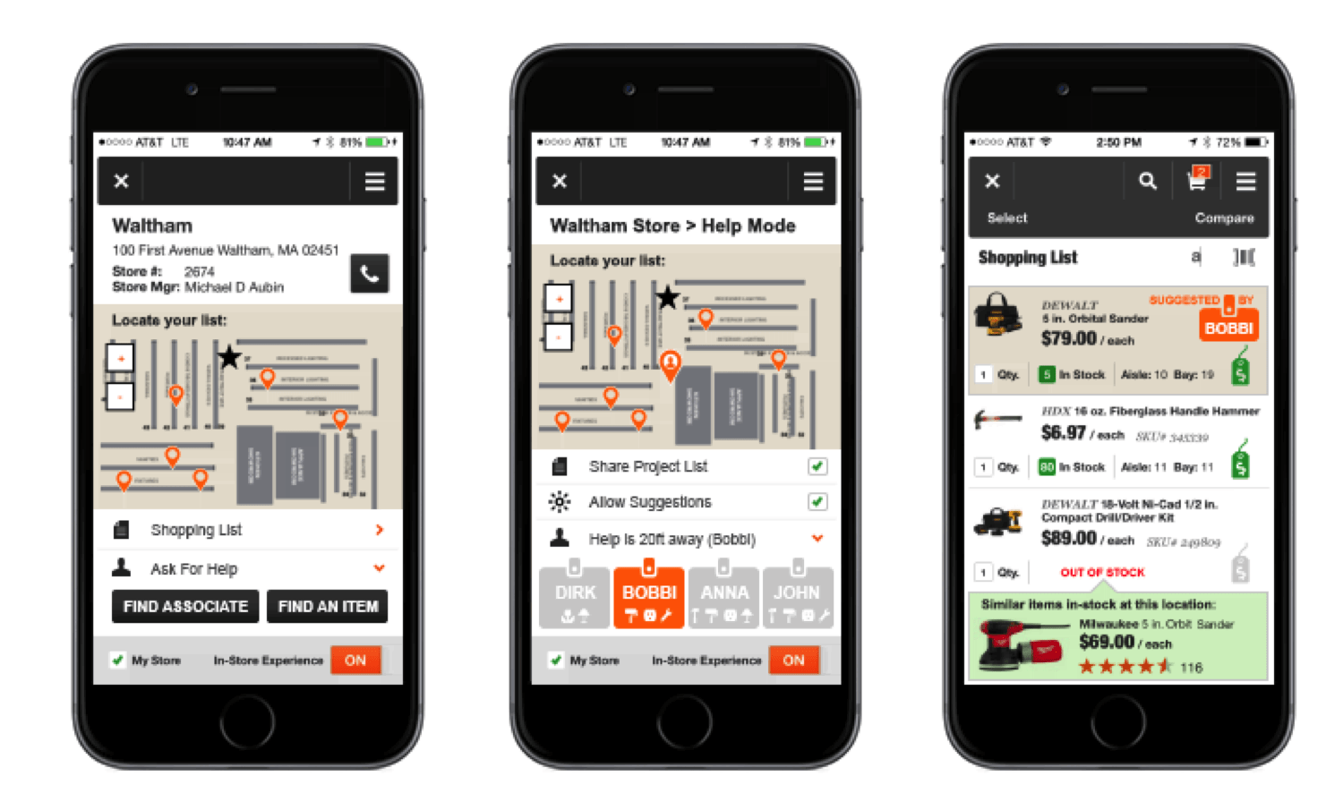 home depot shopping app