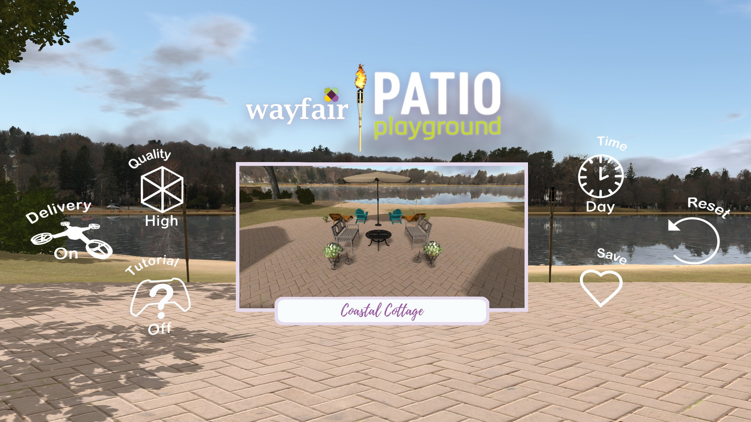 wayfair patio playground oculus rift