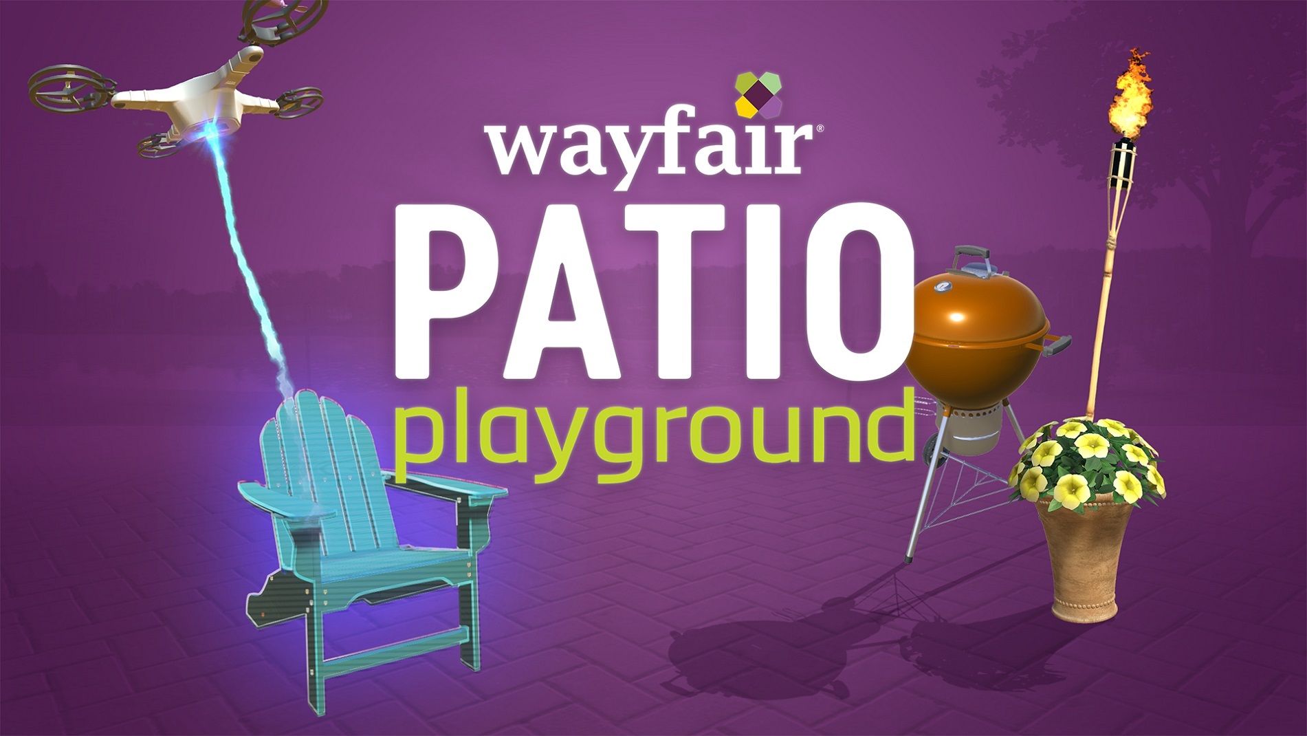 wayfair patio playground