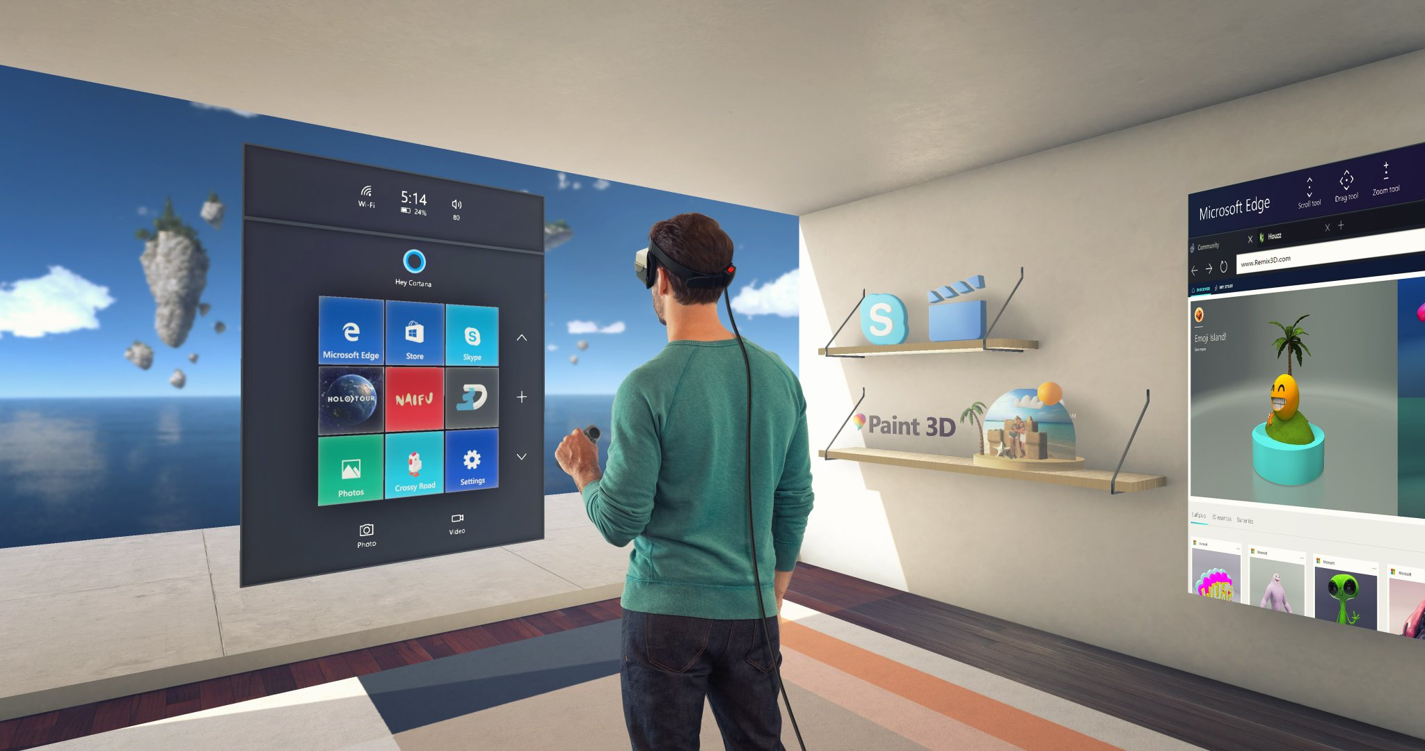 mixed reality windows 10