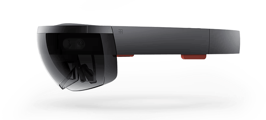 The Microsoft HoloLens. Photo from Microsoft.
