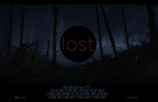 Lost is our first sneak into the VR cinema experience. Photo from Oculus.