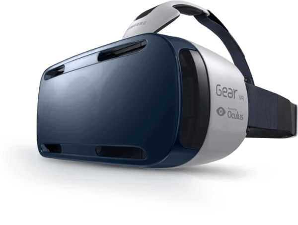 The Samsung Gear VR. Photo from Samsung.