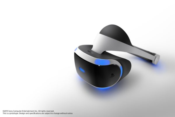 The updated Project Morpheus headset. Photo: Sony