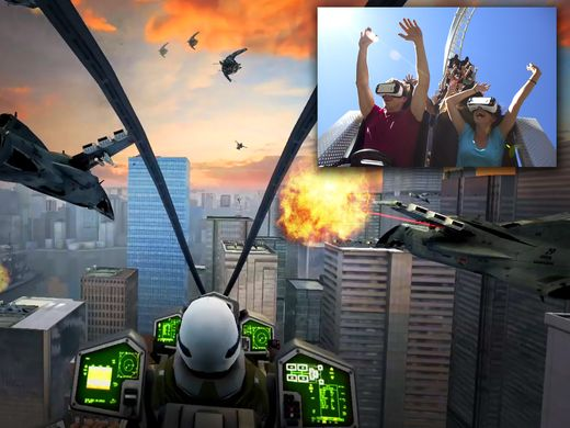 six flags vr