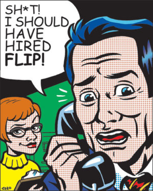 flip publicity